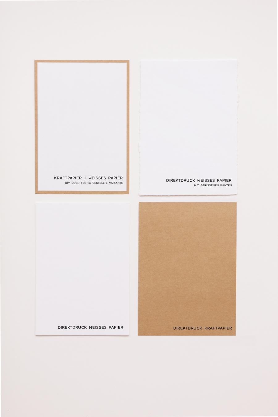 Papiersorten für Eure Hochzeitspapeterie