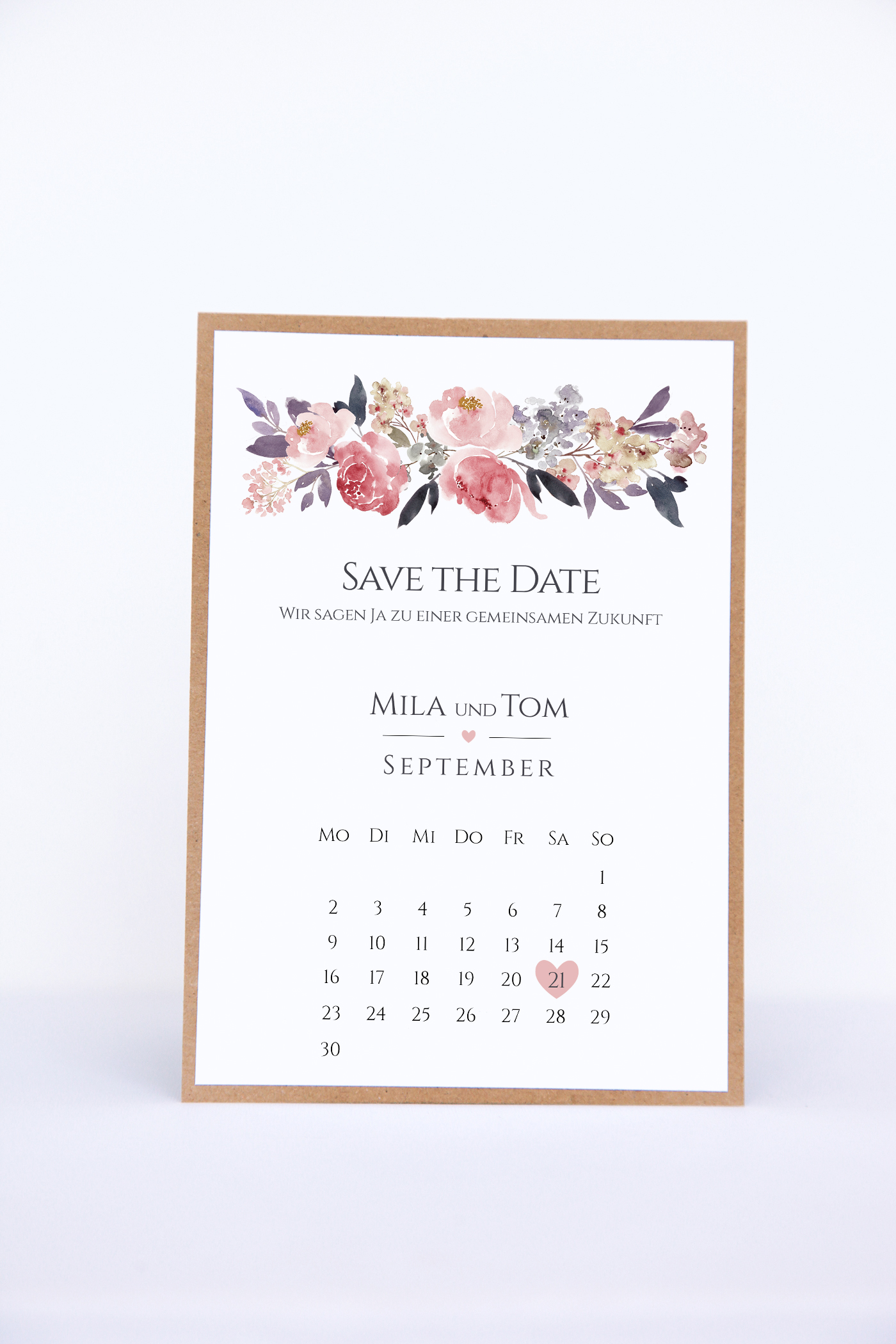 Save The Date Karte.Save The Date Karten Diy Mila Tom