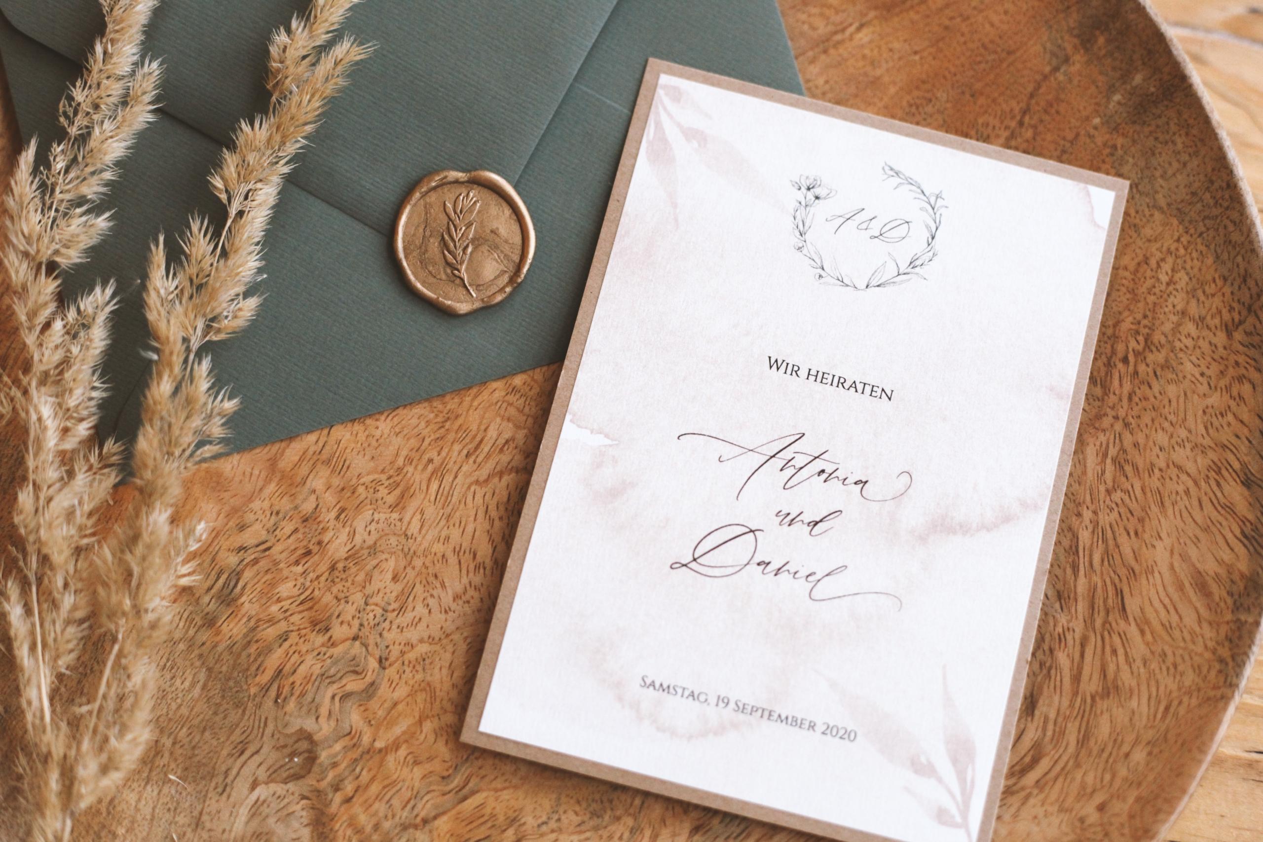 einladungskarten diy • elegant collection | reflect